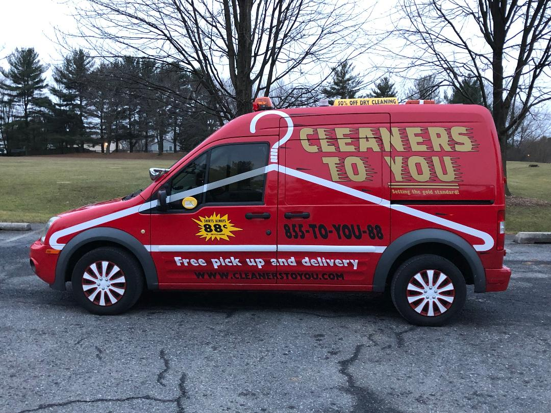 Cleaners To You Van